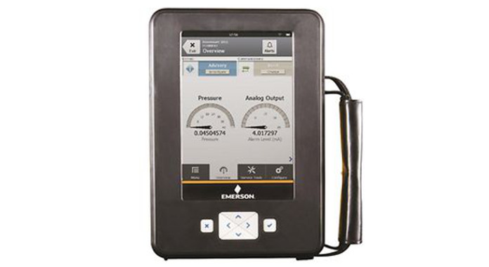 Emerson upgrades handheld communicator with first-of-its-kind automatic synchronization technology