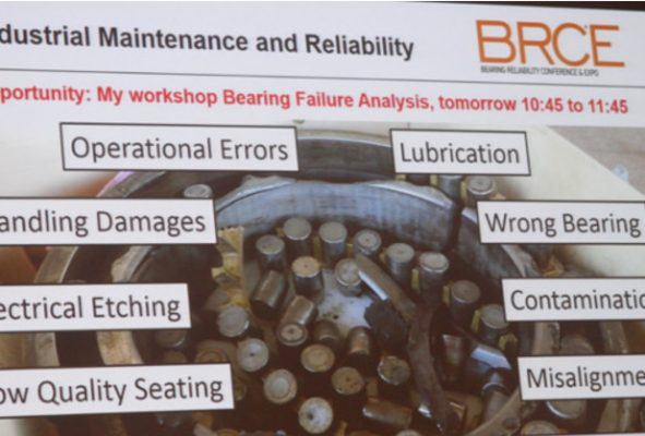 Download the Presentations @ the Bearing Reliability Conference & Expo 2017